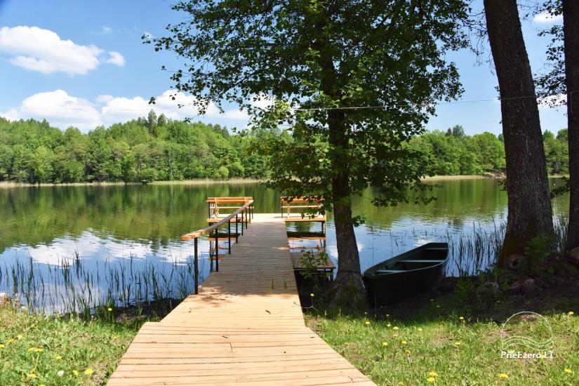 Сельский дом и баня у озера в Игналинском районе - 16