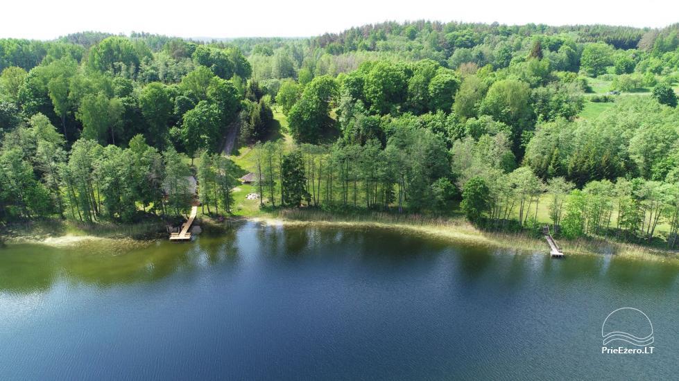 Сельский дом и баня у озера в Игналинском районе - 45
