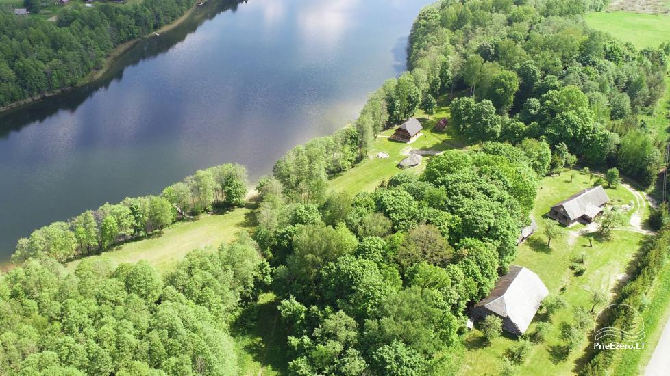 Сельский дом и баня у озера в Игналинском районе - 18