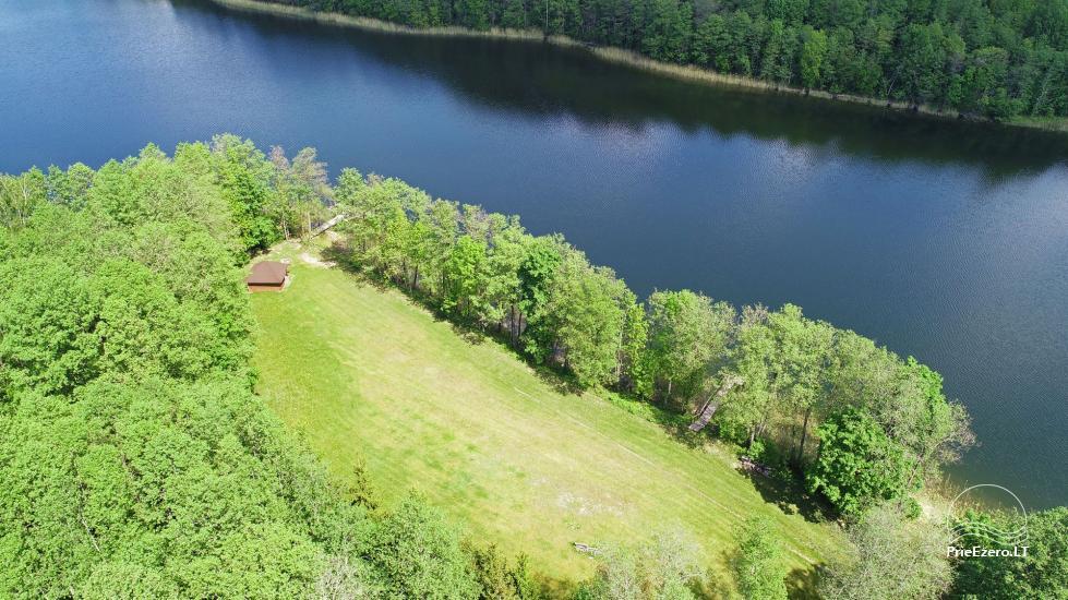 Сельский дом и баня у озера в Игналинском районе - 40