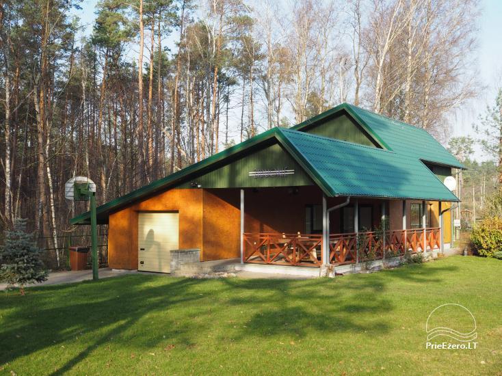 Дом отдыха «Жибуокле» в Варенском районе - 1