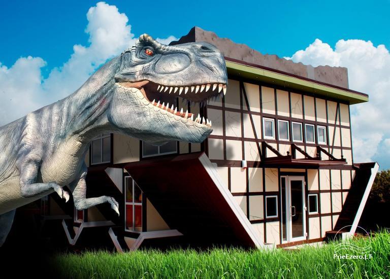 RADAILIU DVARAS - park of dinosaurs - apartment - restaurant- banquets - weddings near Klaipeda - hotel - restaurant - saunas. 7km from Klaipeda - 60