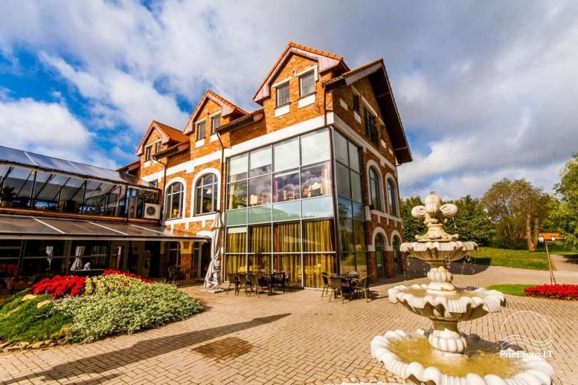 RADAILIU DVARAS - park of dinosaurs - apartment - restaurant- banquets - weddings near Klaipeda - hotel - restaurant - saunas. 7km from Klaipeda - 1