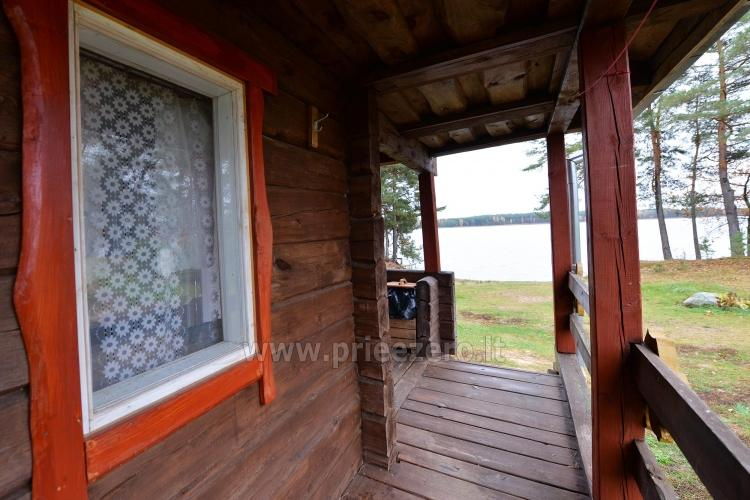 Homestead in Moletai region at the lake  Malūnėlis - 9