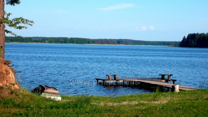 Homestead in Moletai region at the lake  Malūnėlis - 2