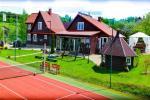 "Homestead in Ignalina district ""Saulėtekis"": holiday villas, café, bathhouse, sports"