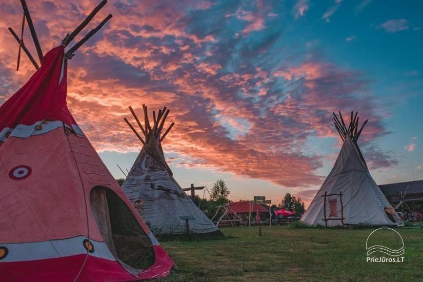 Camping Vinetu kaimas in Klaipėda area - 1
