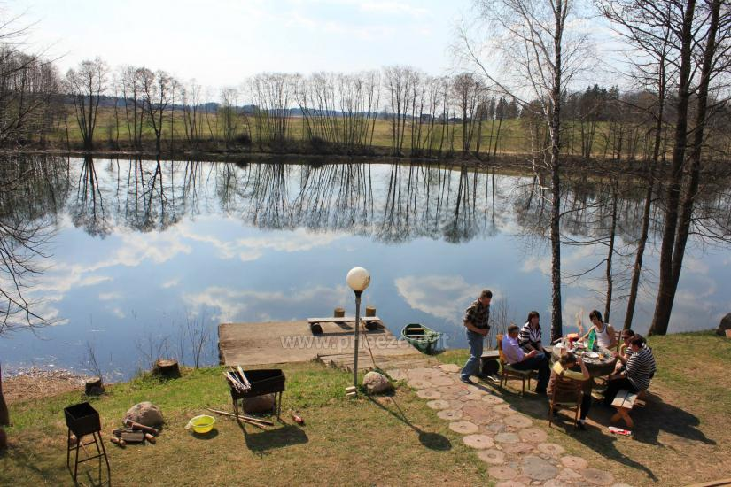 Holiday houses for rent by the lake Pakalas - 15