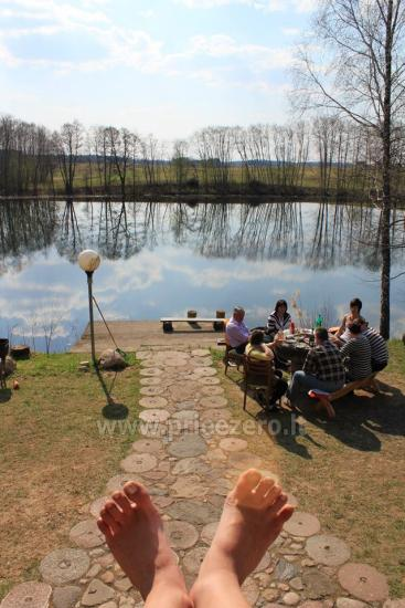 Holiday houses for rent by the lake Pakalas - 16