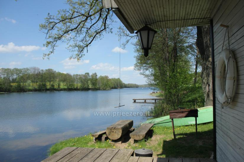 Holiday houses for rent by the lake Pakalas - 23