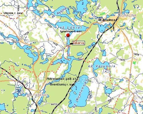 Homestead in Ignalina region Homestead Sakarva - 48