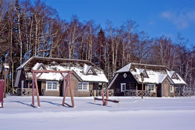 Vacation park in Telšiai distrct at the lake Lūkstas Rest Park - 35