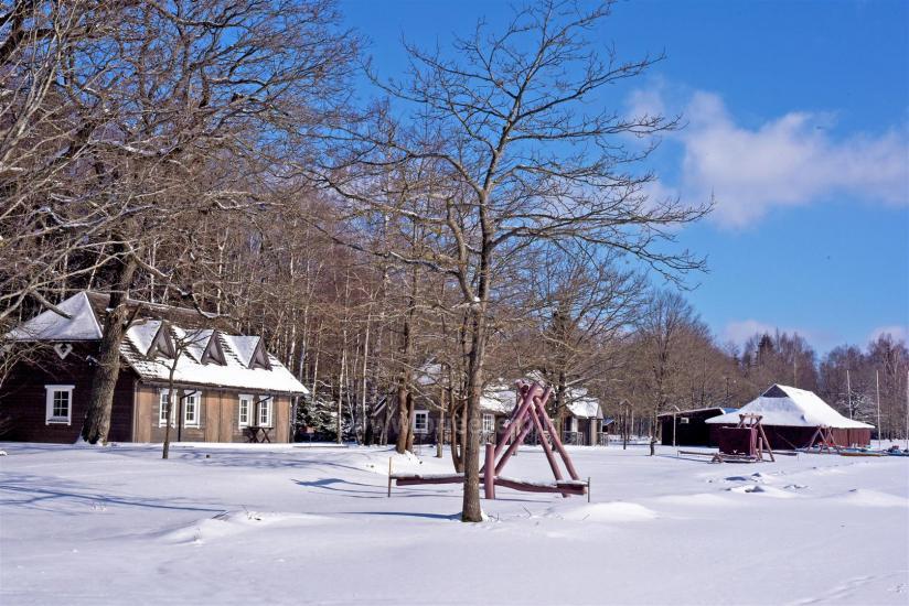 Vacation park in Telšiai distrct at the lake Lūkstas Rest Park - 36