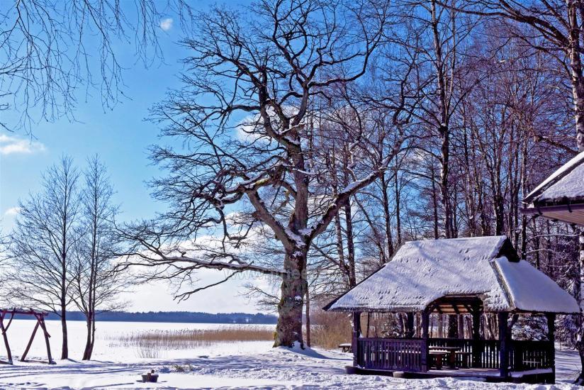 Vacation park in Telšiai distrct at the lake Lūkstas Rest Park - 39
