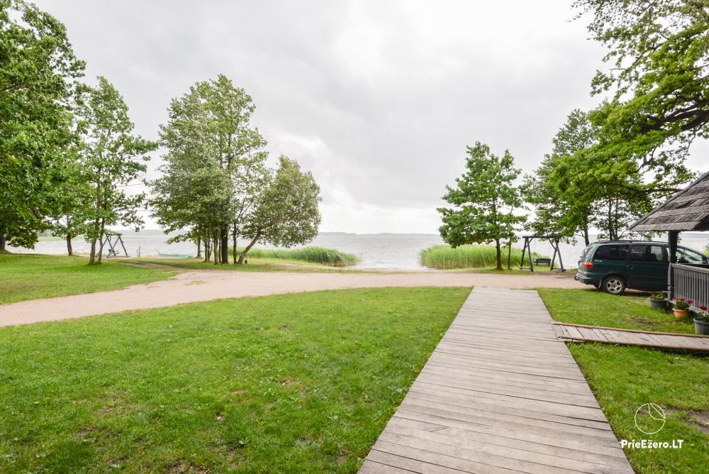 Vacation park in Telšiai distrct at the lake Lūkstas Rest Park - 22