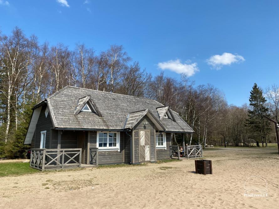 Vacation park in Telšiai distrct at the lake Lūkstas Rest Park - 11