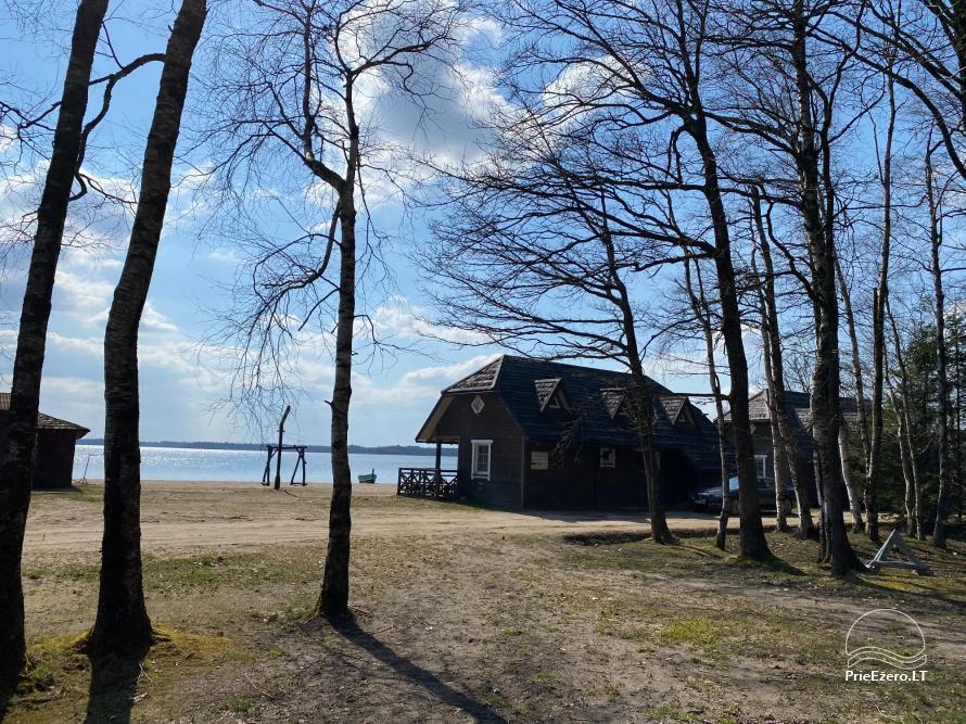Vacation park in Telšiai distrct at the lake Lūkstas Rest Park - 12