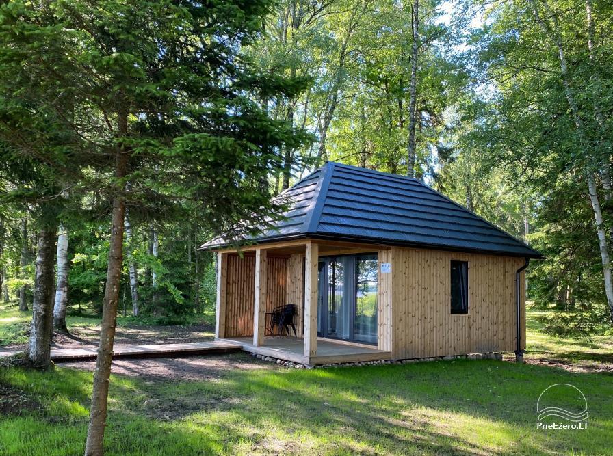 Vacation park in Telšiai distrct at the lake Lūkstas Rest Park - 1