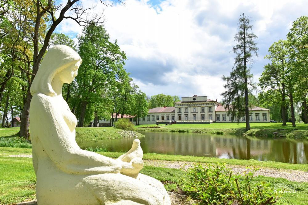 Manor Taujėnų dvaras in Ukmergės district by the river - 8