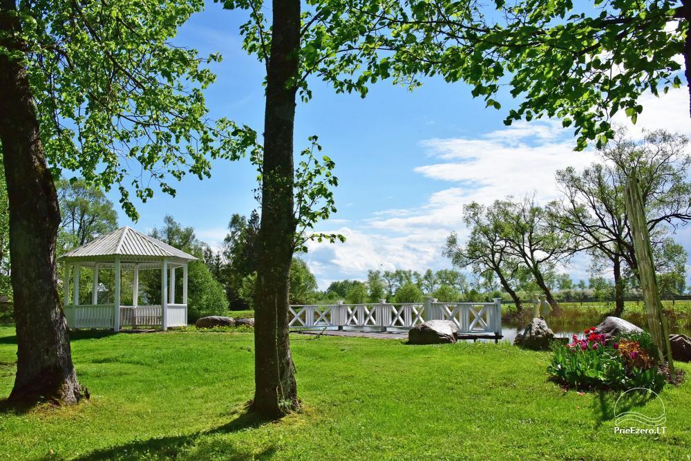 Manor Taujėnų dvaras in Ukmergės district by the river - 62