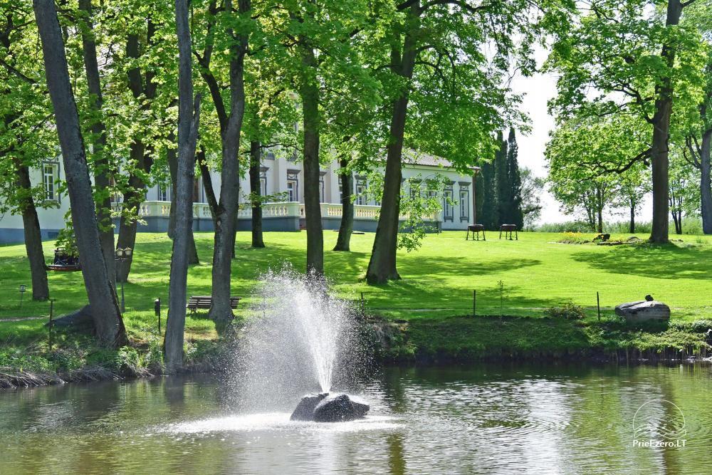 Manor Taujėnų dvaras in Ukmergės district by the river - 71
