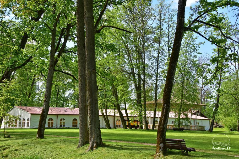 Manor Taujėnų dvaras in Ukmergės district by the river - 74