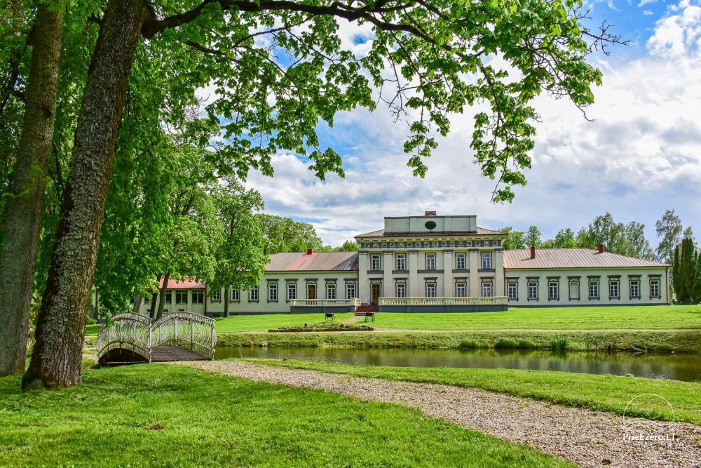 Manor Taujėnų dvaras in Ukmergės district by the river - 6