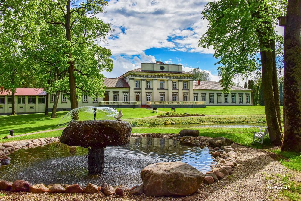 Manor Taujėnų dvaras in Ukmergės district by the river - 7