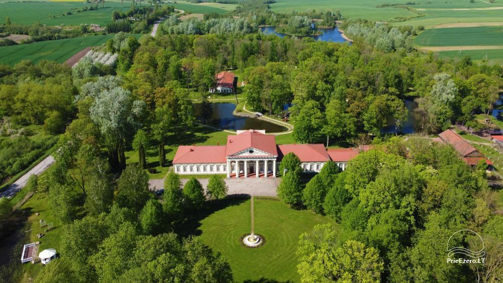 Manor Taujėnų dvaras in Ukmergės district by the river - 4