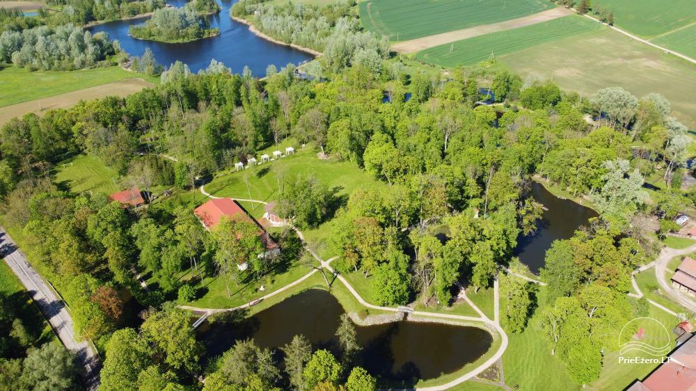 Manor Taujėnų dvaras in Ukmergės district by the river - 61