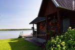 Countryside Homestead near the lake Bebrusai