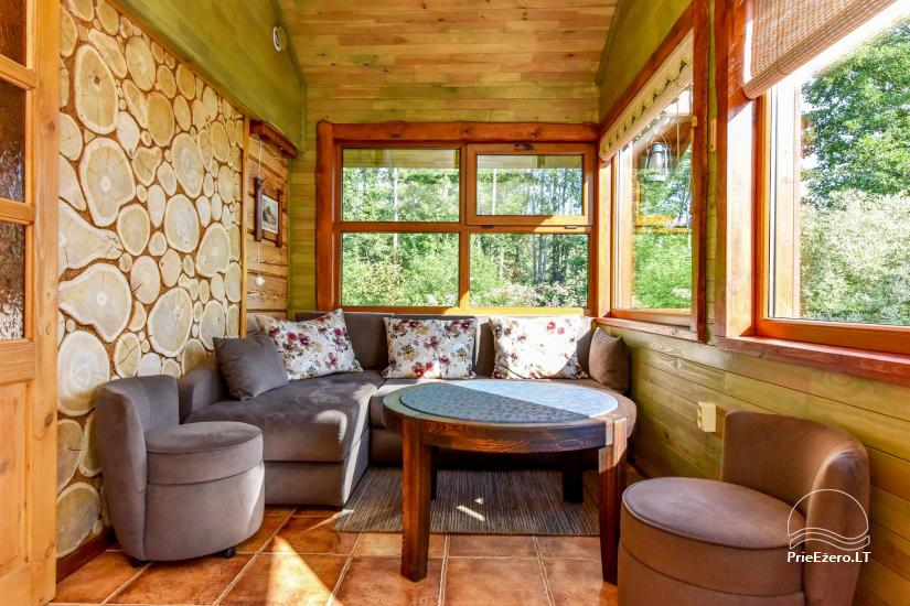 Countryside Homestead near the lake Bebrusai - 40