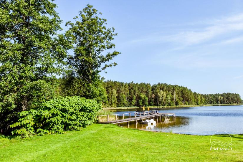 Countryside Homestead near the lake Bebrusai - 48