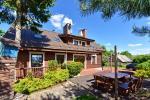 Villa for rest and celebrations - Spa Villa Trakai: hall, Jacuzzi and sauna, accommodation
