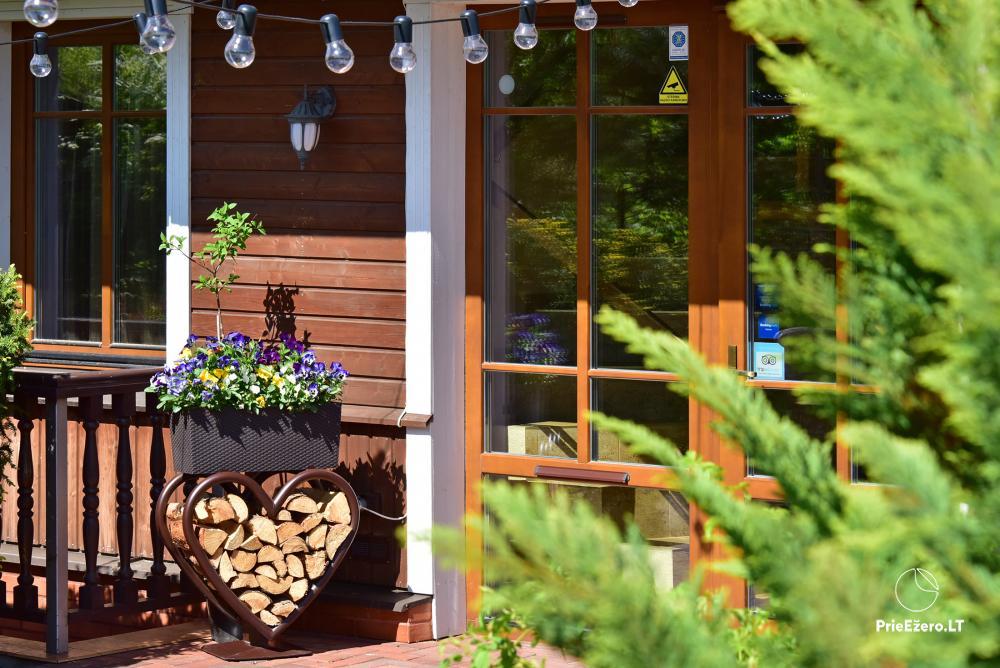Villa for rest and celebrations - Spa Villa Trakai: hall, Jacuzzi and sauna, accommodation - 9