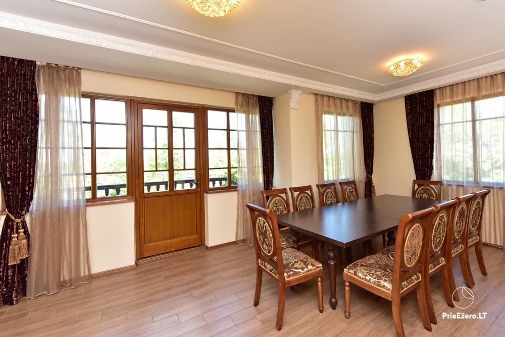 Villa for rest and celebrations - Spa Villa Trakai: hall, Jacuzzi and sauna, accommodation - 20
