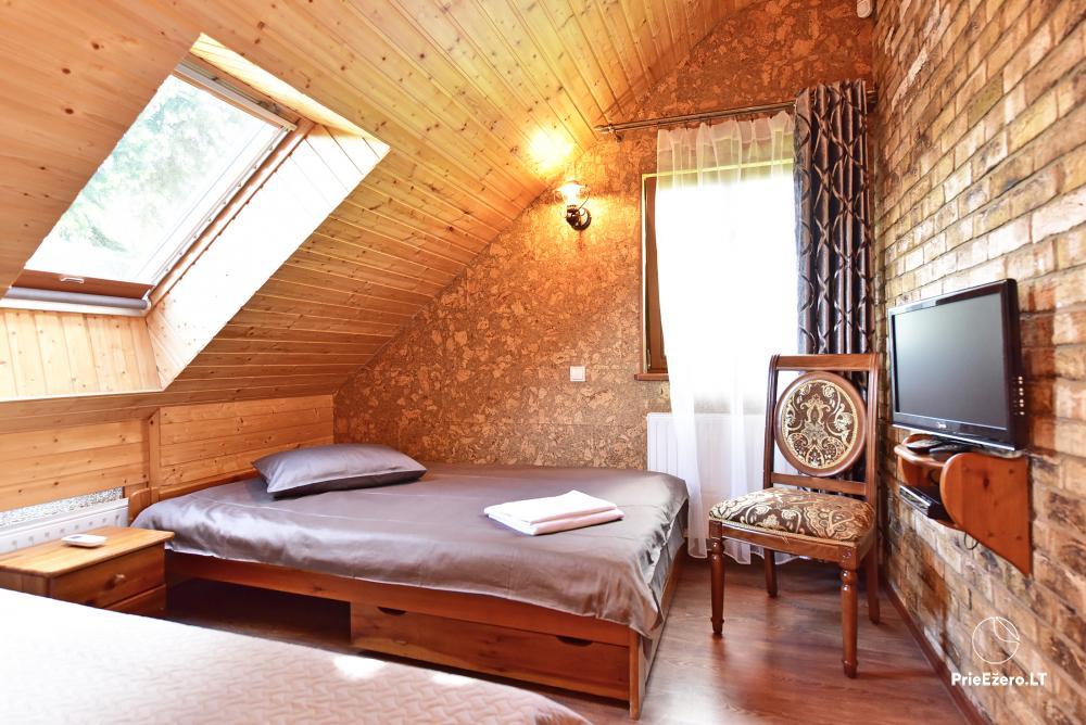 Villa for rest and celebrations - Spa Villa Trakai: hall, Jacuzzi and sauna, accommodation - 35