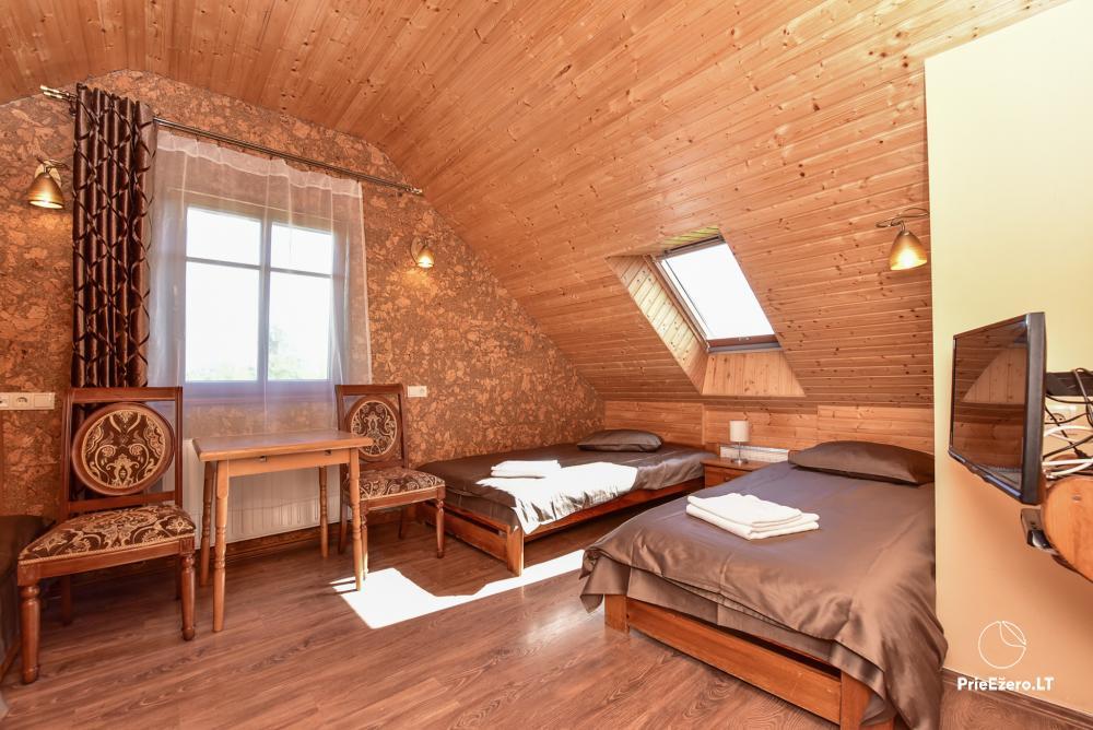 Villa for rest and celebrations - Spa Villa Trakai: hall, Jacuzzi and sauna, accommodation - 26