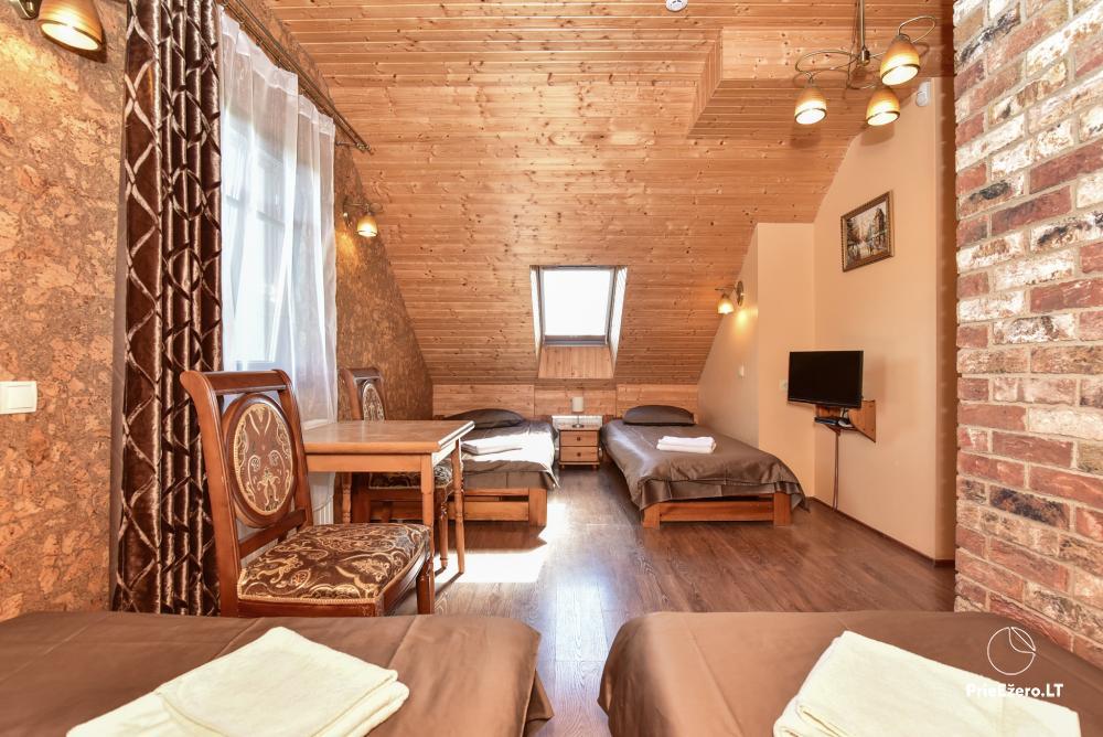 Villa for rest and celebrations - Spa Villa Trakai: hall, Jacuzzi and sauna, accommodation - 24