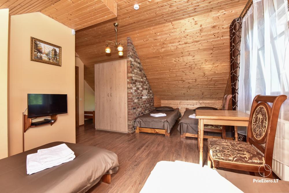 Villa for rest and celebrations - Spa Villa Trakai: hall, Jacuzzi and sauna, accommodation - 25