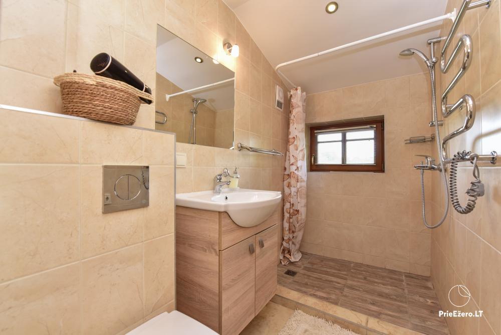 Villa for rest and celebrations - Spa Villa Trakai: hall, Jacuzzi and sauna, accommodation - 30