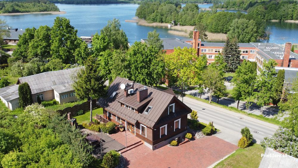 Villa for rest and celebrations - Spa Villa Trakai: hall, Jacuzzi and sauna, accommodation - 7
