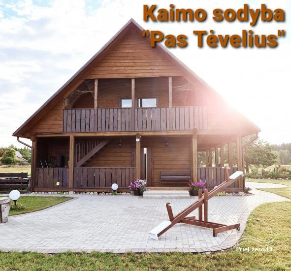 Gospodarstwo w Vilienskim rejonie  Pas Tevelius - 1