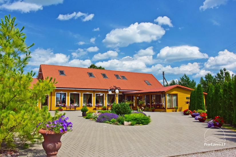 Homestead by the river in Alseikiai village Alsė for celebrations. Banquet hall, 2 saunas - 1