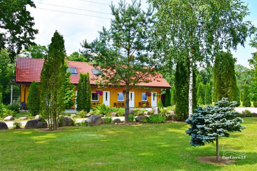 Homestead by the river in Alseikiai village Alsė for celebrations. Banquet hall, 2 saunas - 32