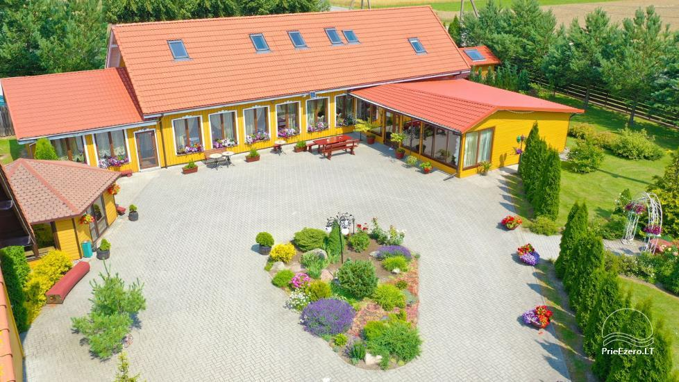 Homestead by the river in Alseikiai village Alsė for celebrations. Banquet hall, 2 saunas - 3