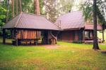 Homestead - camping and holiday cottages in Moletai region at the lake Siesartis