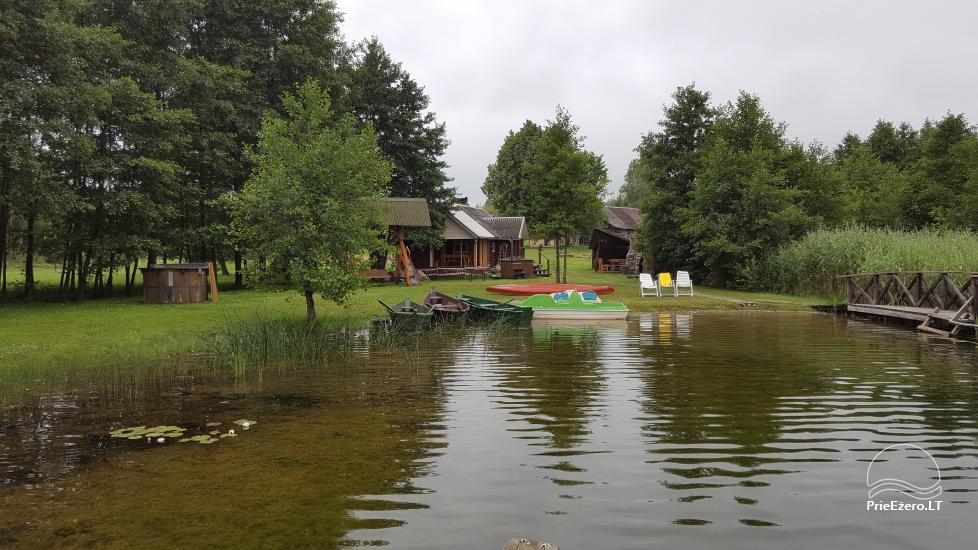 Усадьба у озера, в районе Лаздияй - 1