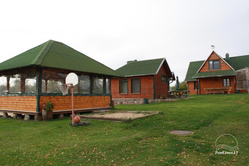 Farmstead by the lake, in Lazdijai area - 2