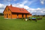 Homestead with bathhouse 10 km from Vilnius